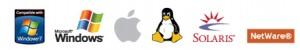 Von Online Backup unterstützte Betriebssysteme